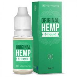 E-LÍQUIDO HARMONY CBD SABOR ORIGINAL HEMP 100mg 10ml Sin Nicotina
