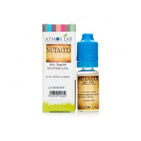 E-líquido ATMOS LAB NUTACCO 12mg/ml 10ml