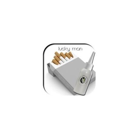 LUKI WHITE BOX MEDIO NICOTINA 12mg 10ml Líquido Cigarrillos Electrónicos