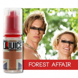 E-LÍQUIDO T-Juice sabor Forest Affair sin nicotina 10 ml