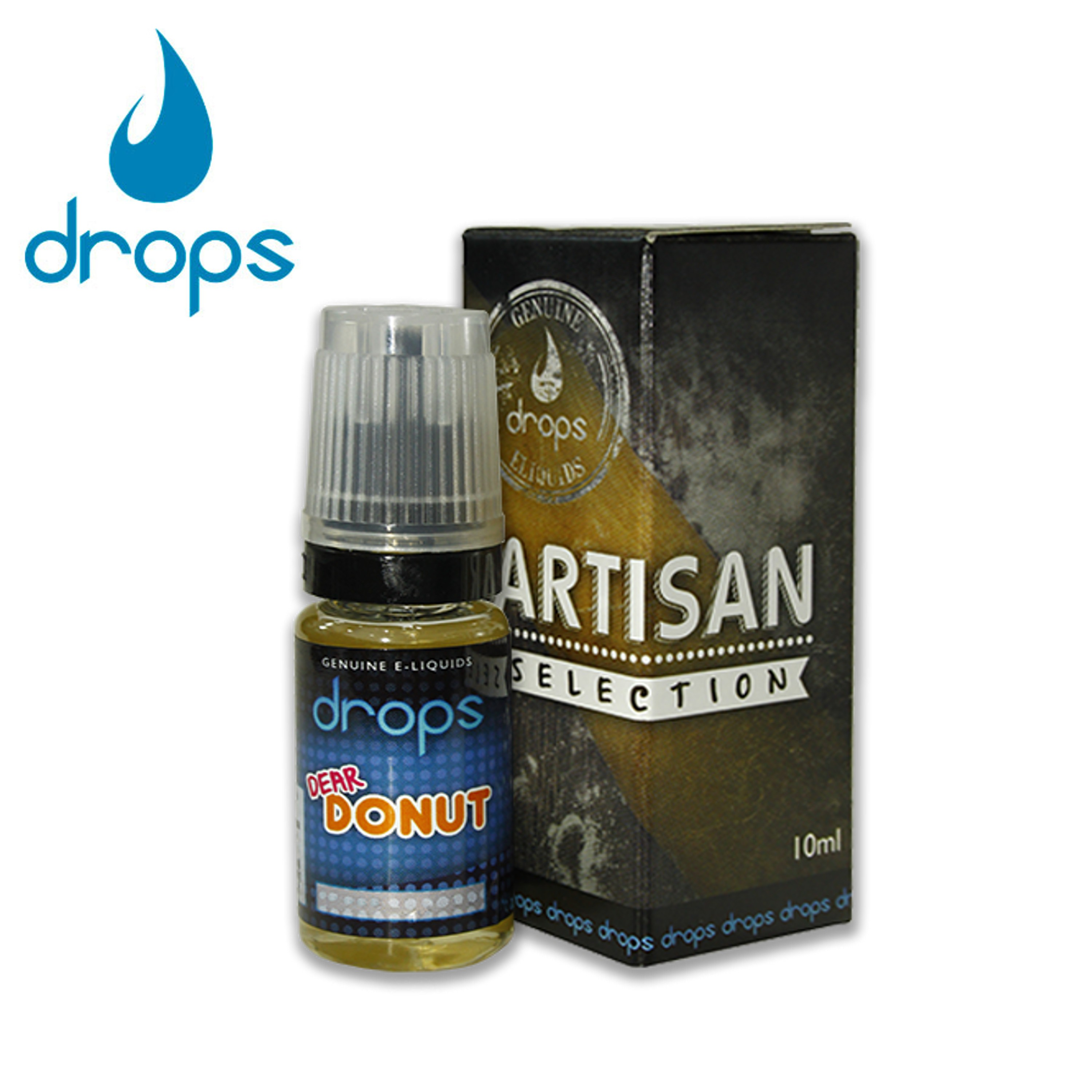 E-líquido DROPS DEAR DONUT 3mg/ml 10ml