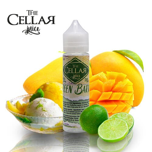 E-líquido The Cellar Juice Green Barrel TPD 50ml Sin Nicotina