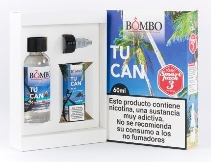 E-líquido BOMBO TUCAN 3mg/ml Smart Pack 60ml