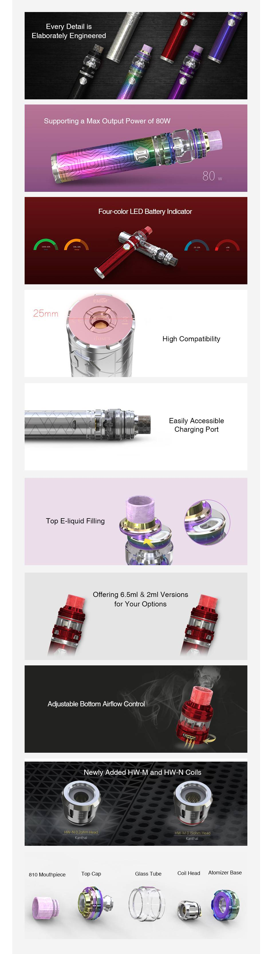 Kit IJust 3 (TPD 2ml) – Eleaf