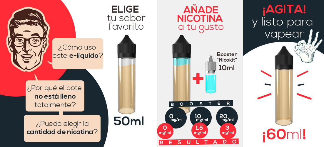 E-líquido More Than Vapers María Magdalena TPD 50ml 0mg